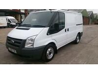 2008 58 FORD TRANSIT 2.2 300 LR 1D 85 BHP 1 OWNER X BT F/S/H LOW MILES 2 KEYS