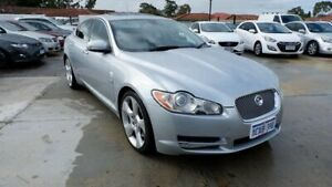 2009 Jaguar XF X250 MY10 Premium Luxury Silver 6 Speed Sports Automatic Sedan St James Victoria Park Area Preview
