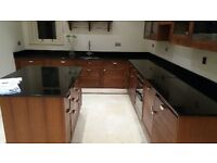 Beautiful Fitted kitchen (walnut units) and granite to fit