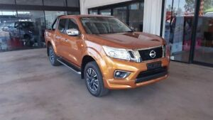 2017 Nissan Navara D23 S2 ST Hornet Gold 7 Speed Continuous Variable Transmission Utility