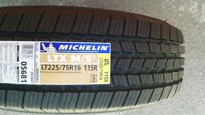 NEW 4 x LT 225/75R16 Michelin LTX MS2 (115/112R) 100% tread