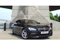 2013 63 BMW 6 SERIES 3.0 640D M SPORT GRAN COUPE 4D AUTO 309 BHP DIESEL FULL SERVICE RECORDS