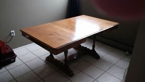 Beautiful solid walnut dining table