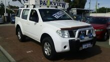 2006 Nissan Pathfinder R51 ST White 5 Speed Automatic Wagon Victoria Park Victoria Park Area Preview
