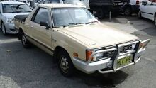 1985 Subaru Brumby (4x4) Beige 4 Speed Manual Utility Victoria Park Victoria Park Area Preview