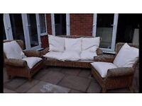 Wicker garden furniture set FREE