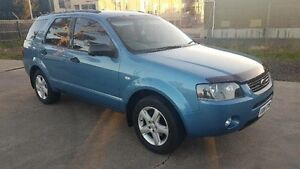 2005 Ford Territory SX TX (RWD) Blue 4 Speed Auto Seq Sportshift Wagon Maidstone Maribyrnong Area Preview