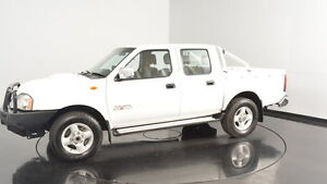 2011 Nissan Navara D22 MY2010 ST-R White 5 Speed Manual Utility Welshpool Canning Area Preview