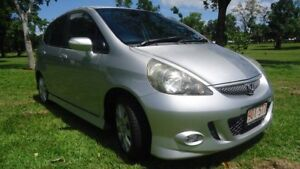 2007 Honda Jazz GD VTi-S Silver 5 Speed Manual Hatchback