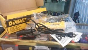 "**DWE402** DeWALT 4-1/2"" Paddle Switch Small Angle Grinder"