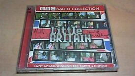 LITTLE BRITAIN 2CD SET SIGNED BY DAVID WALLIAMS & MATT LUCAS