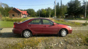 Toyota Camry seulement 89 000 km