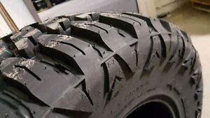 GO PLAY IN MUD!! New AGGRESSIVE MUD TIRES!! 33x12.5R17