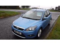 "Ford Focus Titanium,2010,1.6TDCi,17""Alloys,Air Con,Heated Seats,Full Ford Service History,£30 TAX"