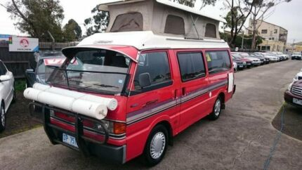 1986 Mazda E2000 Deluxe (LWB) Red 5 Speed Manual Van Maidstone Maribyrnong Area Preview