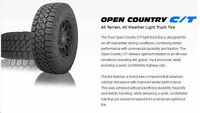 NEW Toyo Open Country C/T