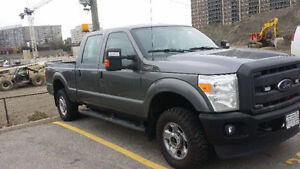 Like New 2012 Ford F250 Super Duty XL Crew Cab 6.5' Box Grey 80K