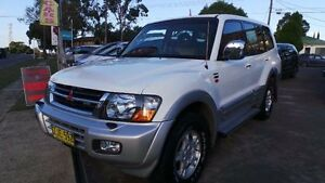 2000 Mitsubishi Pajero NL Exceed White Automatic Wagon Greenacre Bankstown Area Preview