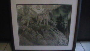 Rod Frederick Timberwolf Print Kitchener / Waterloo Kitchener Area image 1