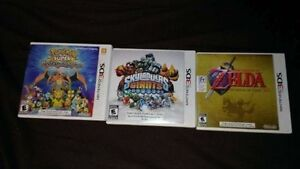 Three Nintendo 3DS Games - Excellent Condition w/ Cases DEAL!