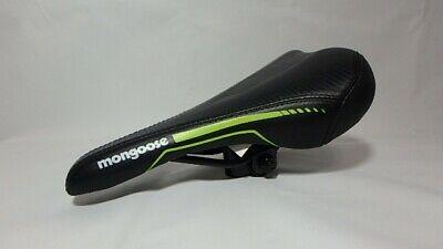 MTB BMX Cruiser Bicycle Bike Seat Saddle Rail Clamp Seat Gut Black