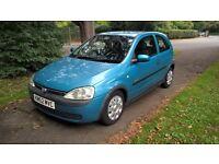 VAUXHALL CORSA 1.0i 12V Elegance (blue) 2002