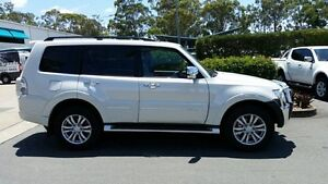 2012 Mitsubishi Pajero NW MY12 Exceed Pearl White 5 Speed Sports Automatic Wagon Acacia Ridge Brisbane South West Preview