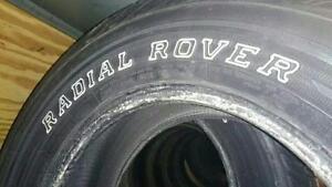 235/70/16 All Season Tire, Installed, 80% Tread Left, Escape