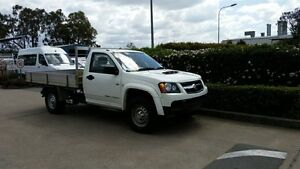2010 Holden Colorado RC MY10.5 DX Alpine White 5 Speed Manual Cab Chassis Acacia Ridge Brisbane South West Preview