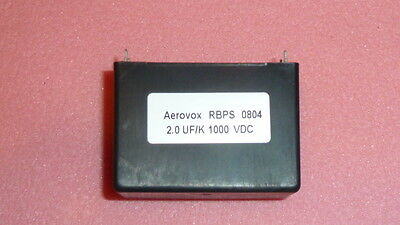 Aerovox 2.0 Ufk 1000vdc 6-pin Snubber Capacitor For Power Vacuum Tube Amplifier