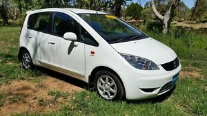 2008 Mitsubishi Colt RG MY08 ES White 1 Speed Constant Variable Hatchback Tanunda Barossa Area Preview