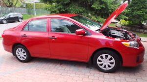 2012 Toyota carolla financemeb