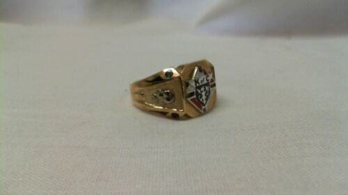 Knights of Columbus Ring - 10KT Gold