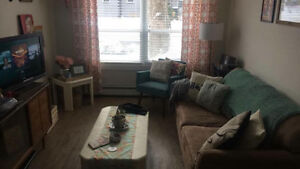 Available MARCH 15 - Fully furnished 1 bedroom apartment SUBLET