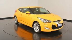 2013 Hyundai Veloster FS2 + Coupe Sunflower 6 Speed Manual Hatchback Victoria Park Victoria Park Area Preview