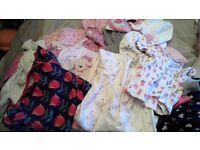 Girls clothes job lot bundle 0-3 months