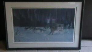 Randy Fehr Under the Arctic Lights Lithograph Kitchener / Waterloo Kitchener Area image 3