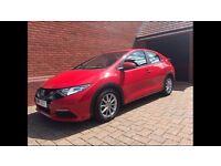 Honda Civic 1.4 I-VTEC S 5Door Hatchback,Red,Lady Owner,Very Low Miles,Garaged,Honda Service Plan