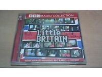 DAVID WALLIAMS & MATT LUCAS SIGNED CD, LITTLE BRITAIN 2CD BBC RADIO COLLECTION