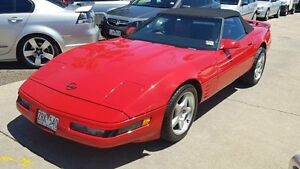 1987 Chevrolet Corvette C4 Red Automatic Coupe