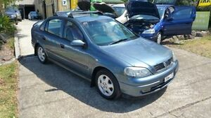 2001 Holden Astra TS CD Blue 4 Speed Automatic Sedan Macquarie Hills Lake Macquarie Area Preview