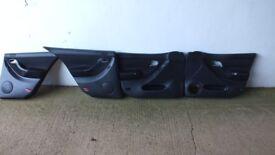 Seat Leon Cupra Toledo 1M/Mk1 Front/Rear Black Cloth Door Cards Panels