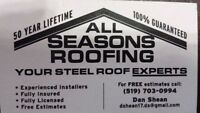 ALL SEASONS ROOFING-steel roofing specialists
