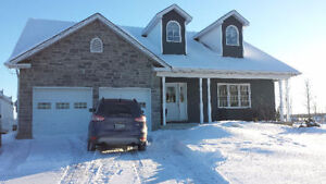 ottawa area  country house with large bedrms and dbl garage