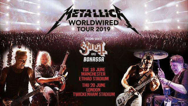 VIP TICKET Metallica WorldWired Tour 2019 Twickenham Stadium  London,Thursday June 20th | in Swindon, Wiltshire | Gumtree
