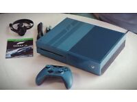 Blue XBox One For Sale - Only 245 - Comes With Kinect Sensor and 3 Games - Forza 6