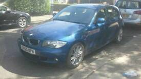 BMW 1 series MSport 2011, Le manz Blue