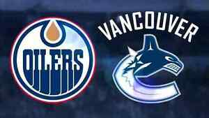 Oilers vs Canucks WAY Below Face Value Sunday April 9
