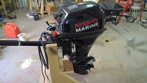 15 HP NISSAN MARINE OUTBOARD MOTOR
