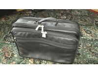 Hi Quality Multi Pocket Leather Laptop Bag